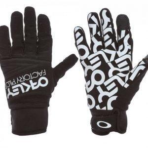 Oakley Factory Park Glove Hiihtohanskat Musta