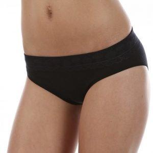 Smartwool Phd Seamless Bikini Villaiset Alushousut Musta